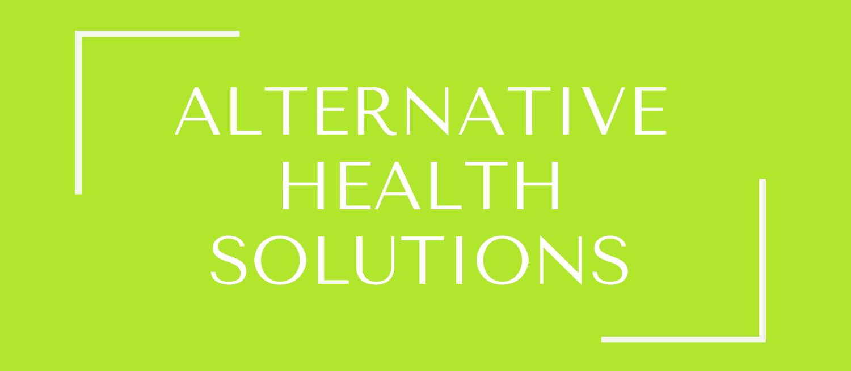 Stockists - Alternative Health Solutions